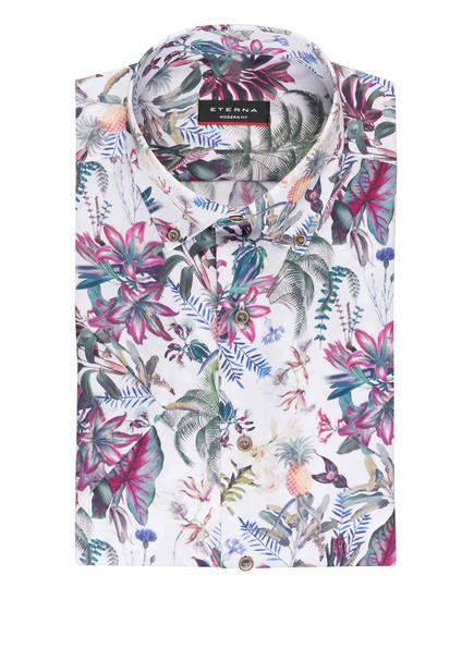 ETERNA Halbarm-Hemd Modern Fit, Farbe: WEISS/ GRÜN/ PINK (Bild 1)