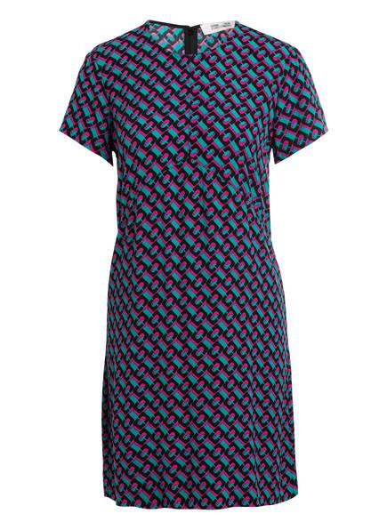 DIANE VON FURSTENBERG Kleid CARLOTTA, Farbe: TÜRKIS/ PINK/ SCHWARZ (Bild 1)