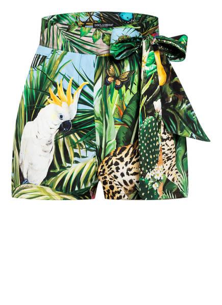 DOLCE&GABBANA Shorts , Farbe: GRÜN/ HELLBLAU/ SCHWARZ (Bild 1)
