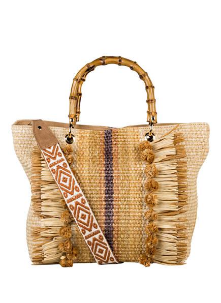 ViaMailBag Shopper TENERIFE, Farbe: BEIGE (Bild 1)