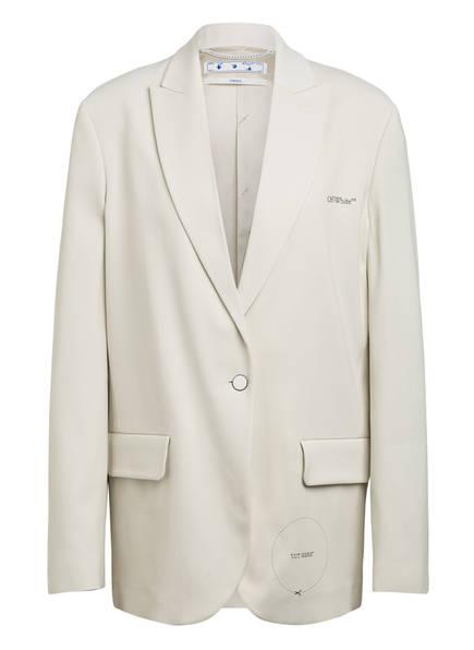 OFF-WHITE Blazer, Farbe: CREME (Bild 1)