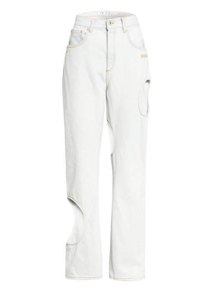 OFF-WHITE Boyfriend Jeans, Farbe: 4000 LIGHT BLUE (Bild 1)