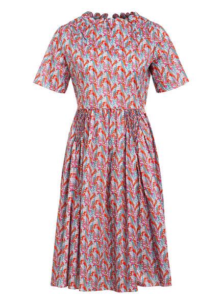 HORROR VACUI Kleid FIORINA, Farbe: ROT/ HELLBLAU/ ROSA (Bild 1)