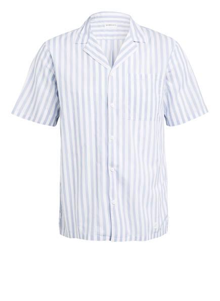NOWADAYS Resorthemd Regular Fit, Farbe: HELLBLAU/ WEISS (Bild 1)