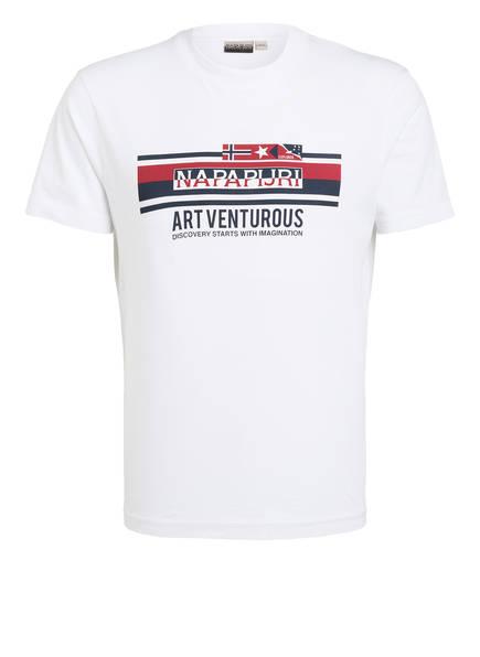 NAPAPIJRI T-Shirt SIKAR, Farbe: WEISS (Bild 1)