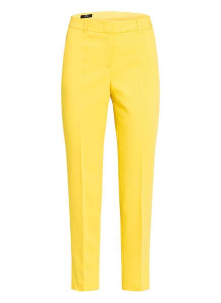 s.Oliver BLACK LABEL 7/8-Hose Slim Fit, Farbe: GELB (Bild 1)