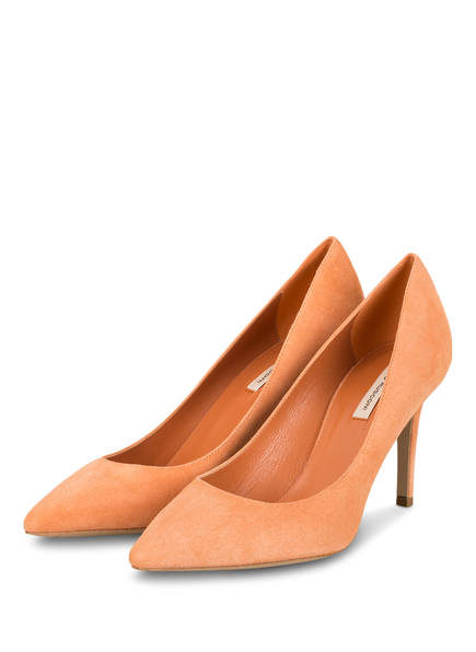 FABIO RUSCONI Pumps NATALY, Farbe: ORANGE (Bild 1)