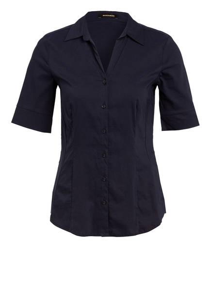 MORE & MORE Hemdbluse, Farbe: DUNKELBLAU (Bild 1)