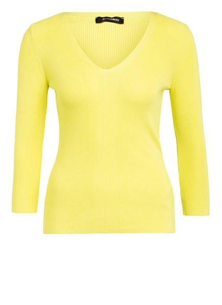 MORE & MORE Pullover mit 3/4-Arm, Farbe: HELLGELB (Bild 1)