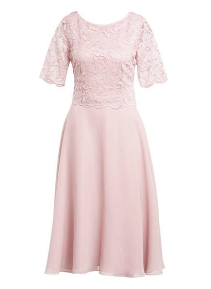 Vera Mont Kleid mit Spitzenbesatz, Farbe: ROSÉ (Bild 1)