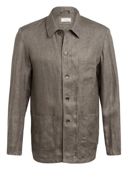 CHAS Overshirt aus Leinen , Farbe: OLIV (Bild 1)