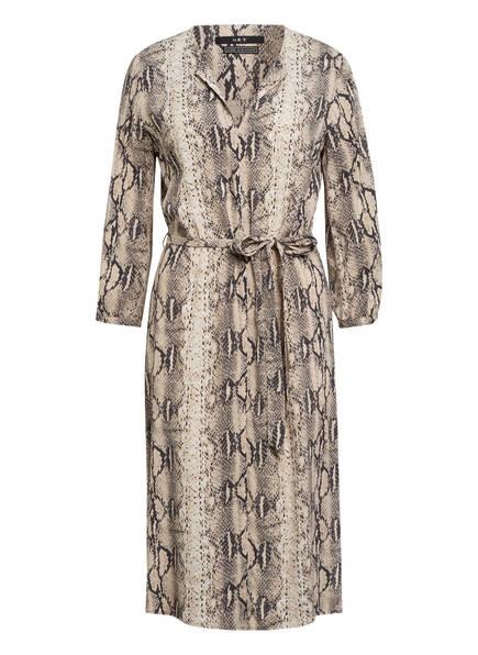 SET Kleid mit 3/4-Arm, Farbe: BEIGE/ DUNKELBRAUN (Bild 1)
