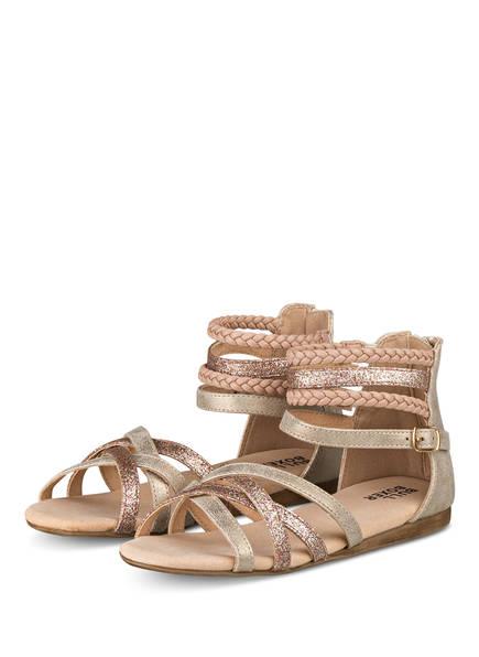 BULLBOXER Sandalen, Farbe: BEIGE/ ROSÉ (Bild 1)