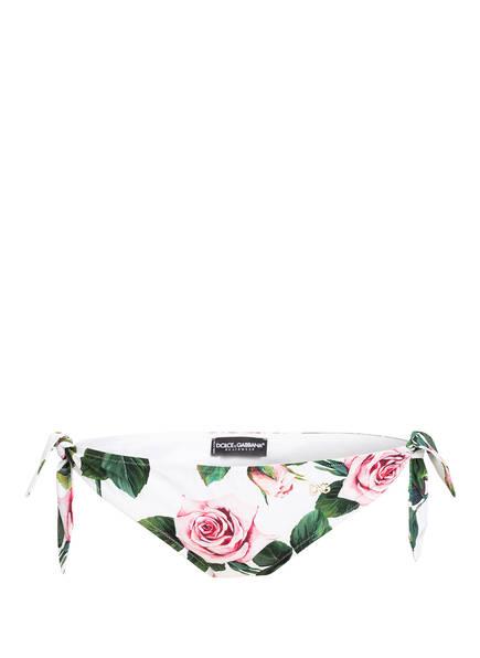DOLCE&GABBANA Bikini-Hose, Farbe: WEISS/ ROSÉ (Bild 1)