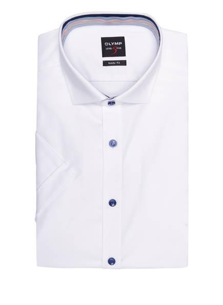 OLYMP Kurzarm-Hemd Level Five body fit, Farbe: WEISS (Bild 1)