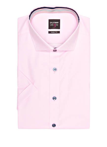 OLYMP Kurzarm-Hemd Level Five body fit, Farbe: ROSA (Bild 1)