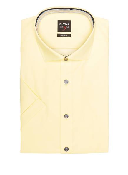 OLYMP Kurzarm-Hemd Level Five body fit, Farbe: HELLGELB (Bild 1)