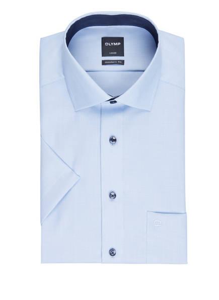 OLYMP Kurzarm-Hemd Luxor modern fit , Farbe: HELLBLAU (Bild 1)