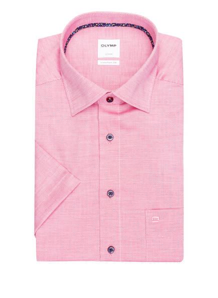 OLYMP Kurzarm-Hemd Luxor comfort fit , Farbe: ROT (Bild 1)
