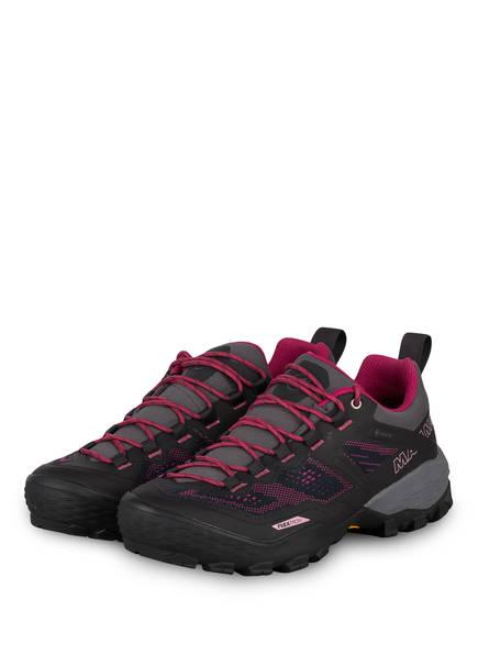 MAMMUT Outdoor-Schuhe DUCAN LOW GTX, Farbe: DUNKELGRAU/ PINK (Bild 1)