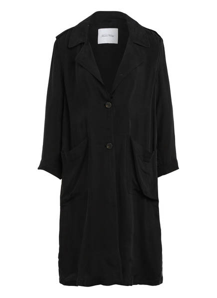 American Vintage Mantel NONO, Farbe: SCHWARZ (Bild 1)