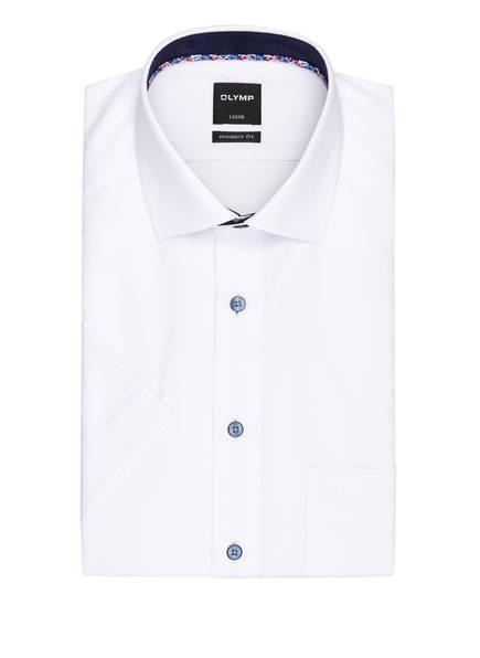 OLYMP Halbarm-Hemd Luxor modern fit , Farbe: WEISS (Bild 1)