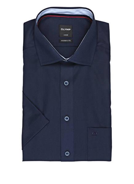 OLYMP Kurzarm-Hemd Luxor modern fit , Farbe: DUNKELBLAU (Bild 1)