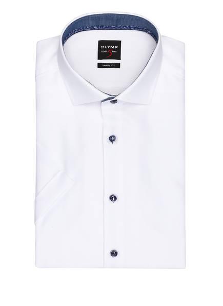 OLYMP Halbarm-Hemd Level Five body fit , Farbe: WEISS (Bild 1)