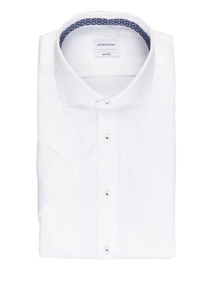 seidensticker Halbarm-Hemd Shaped Fit, Farbe: WEISS (Bild 1)