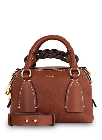 Chloé Handtasche DARIA SMALL , Farbe: SEPIA BROWN (Bild 1)