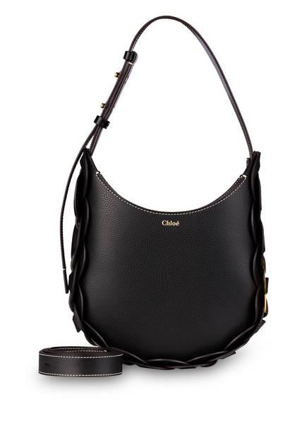 Chloé Hobo-Bag DARRYL MEDIUM, Farbe: SCHWARZ (Bild 1)