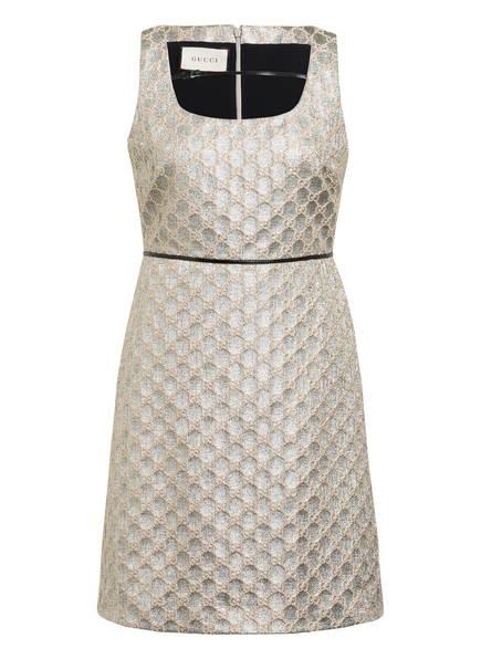 GUCCI Kleid, Farbe: SILBER/ BEIGE (Bild 1)