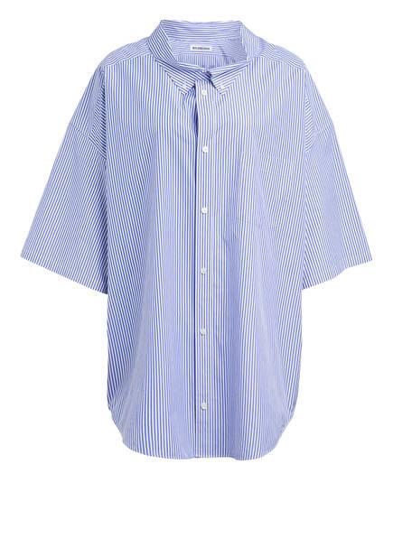 BALENCIAGA Hemdbluse, Farbe: HELLBLAU/ WEISS GESTREIFT (Bild 1)