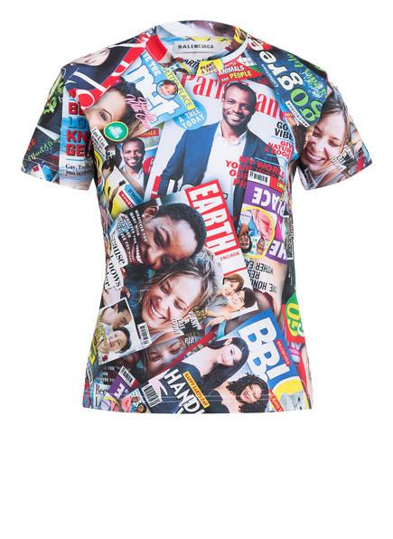 BALENCIAGA T-Shirt , Farbe: BLAU/ ROT/ GRÜN (Bild 1)