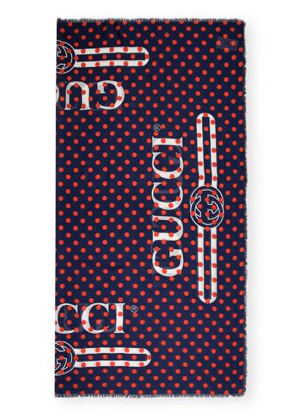 GUCCI Tuch, Farbe: ROT/ WEISS/ BLAU (Bild 1)