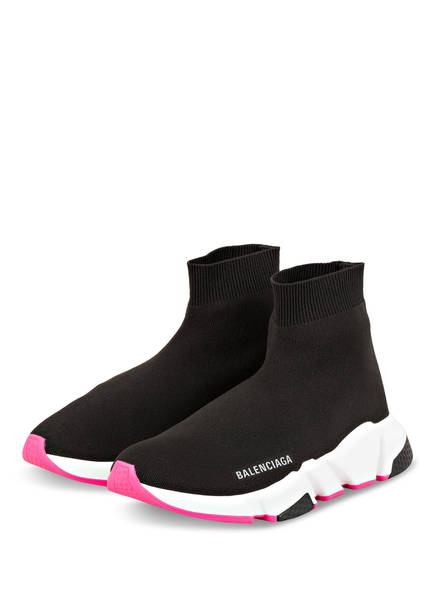 BALENCIAGA Hightop-Sneaker SPEED , Farbe: SCHWARZ (Bild 1)