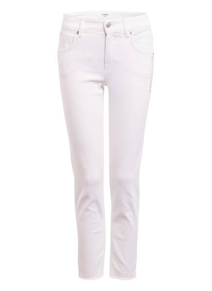 CAMBIO 7/8-Jeans PINA mit Swarovski Kristallen, Farbe: 5110 WEISS (Bild 1)