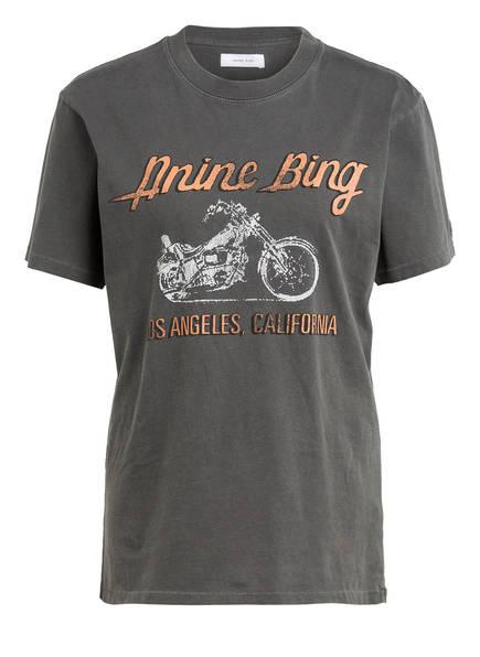 ANINE BING T-Shirt, Farbe: DUNKELGRAU (Bild 1)