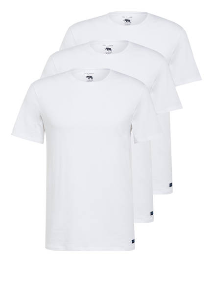 TED BAKER 3er-Pack T-Shirts, Farbe: WEISS (Bild 1)
