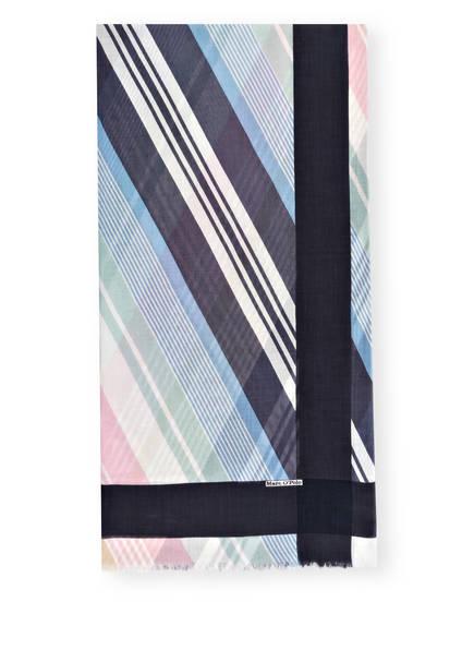 Marc O'Polo Schal, Farbe: DUNKELBLAU/ WEISS/ ROSA (Bild 1)