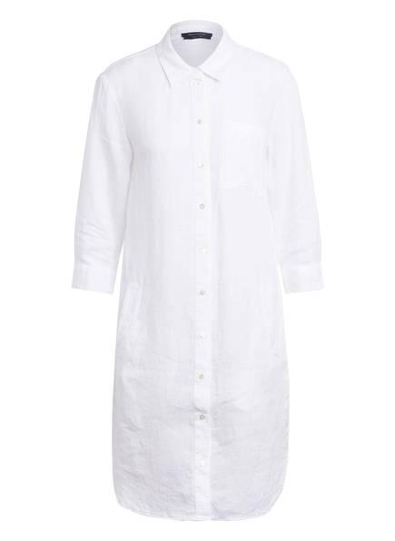 Marc O'Polo Hemdblusenkleid aus Leinen, Farbe: WEISS (Bild 1)