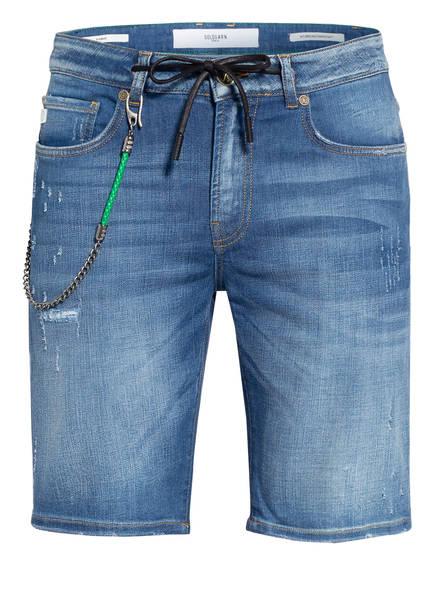 GOLDGARN DENIM Jeans-Shorts PLANKEN, Farbe: 1090 MID BLUE (Bild 1)