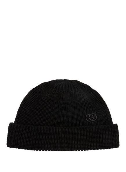 GUCCI Mütze, Farbe: SCHWARZ (Bild 1)