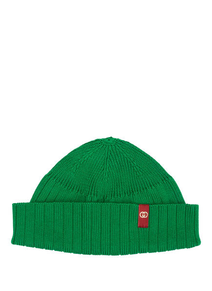 GUCCI Mütze MARINA, Farbe: GRÜN (Bild 1)