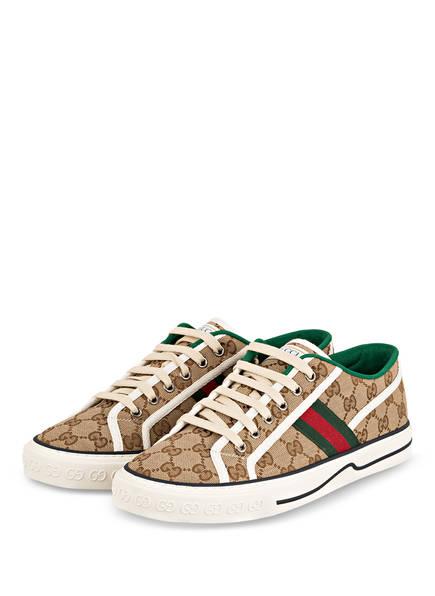 GUCCI Sneaker TENNIS 1977, Farbe: BEIGE (Bild 1)