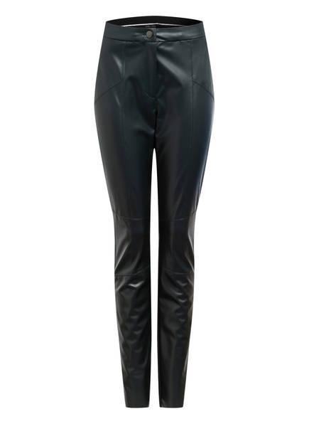 MARC CAIN Hose in Lederoptik , Farbe: 560 CONIFER (Bild 1)