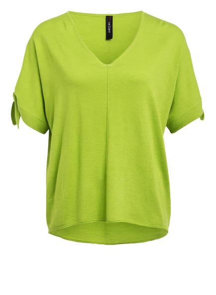 MARCCAIN Strickshirt mit Seide, Farbe: 538 PEA (Bild 1)