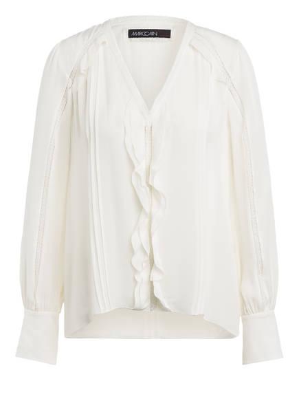 MARCCAIN Blusenshirt aus Seide, Farbe: 110 off (Bild 1)