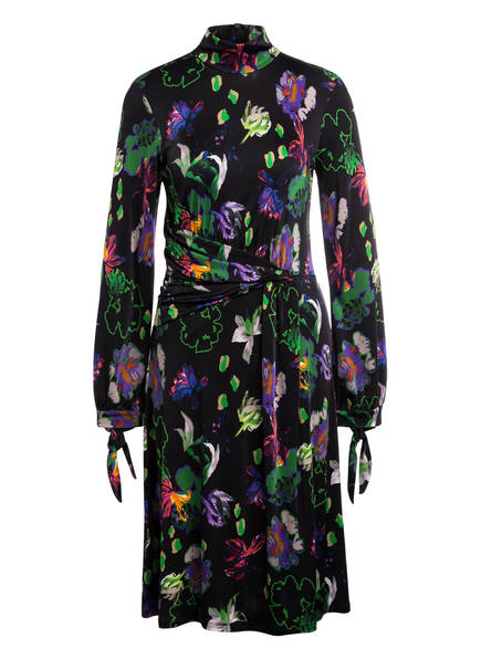 MARCCAIN Kleid , Farbe: SCHWARZ/ HELLGRÜN/ PINK (Bild 1)