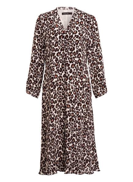 MARCCAIN Kleid mit Seide, Farbe: 696 dark moro (Bild 1)